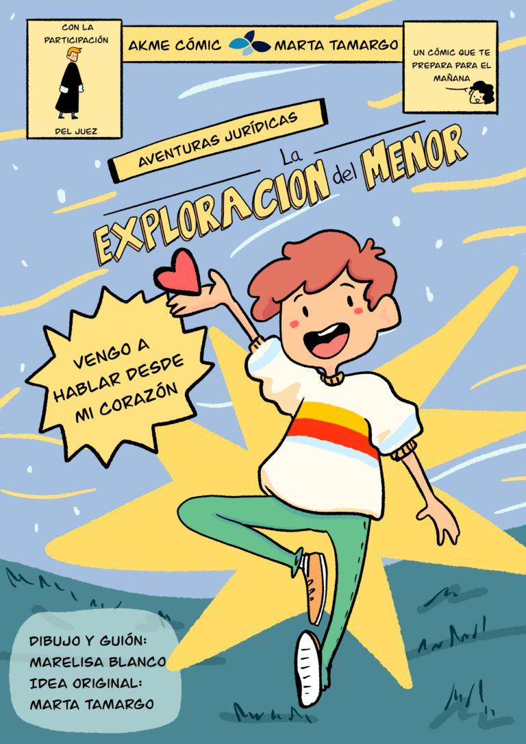 Lee más sobre el artículo Menores y Juzgados: Un cómic idea de Marta Tamargo